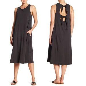 BOBEAU Lillian Tieback Tank Dress Knit Lagenlook